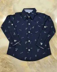 Cotton Shirts & T-Shirts Boys Shirt