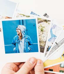 in Pan India White Polaroid photo print, Home Delivery, Dimension / Size: 3x4 Inch