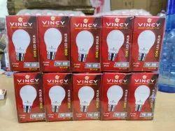 Vincy pp 9W DOB LED Bulb, Base Type: B22, -10 To 40 Degree
