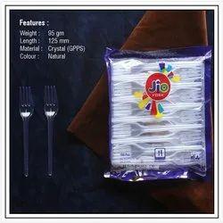 Plastic Disposable Fork