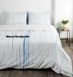 Shibori Printed Cotton Duvets Cover Quilts Cover