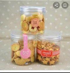 Pet Cylindrical Jar