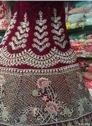 Red Georgette Bridal Wear
