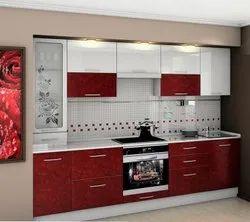 Straight Plywood Modular Kitchen