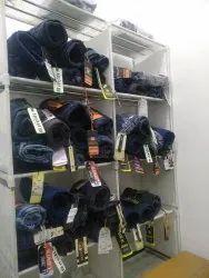 Branded Men's Jeans Retail, Plastic Packaging
