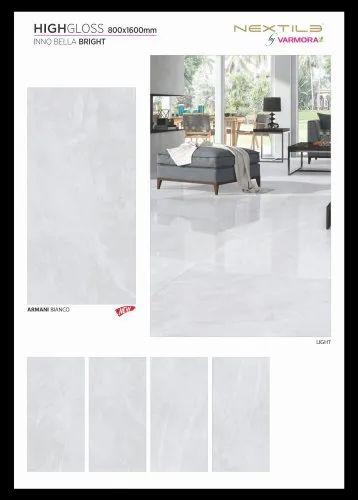 Nextile Varmora 800x1600 Slim Flexible Armani Bianco/Grey