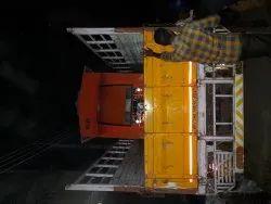 Netal Red Electric Food Cart
