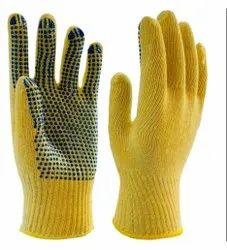 Pentagon PVC Dotted Gloves