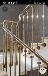 Brass ralling