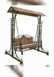European Iron wood swing foldable