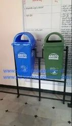 Aristo Dustbin With Stand 110L