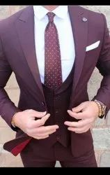 Blended Party Mens Wedding Suit