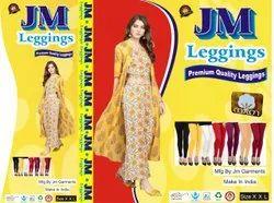 JM Plain Woollen Leggings, Size: Free Size
