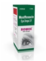 Moxifloxacin hcl 0.5%