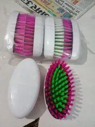 White Batiya Cloth Brush