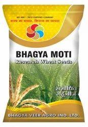 Natural Bhagya Moti Sanshodhit Research Wheat Seeds, Packaging Type: Packet, Packaging Size: 20 Kg