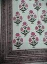 Meera Handicrafts Printed Cotton Table Cloth, Size: 60 x 90 Inch