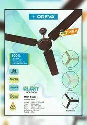 Gold Oreva 3 Blade Glory Celling Fan, Sweep Size: 1200 Mm, Fan Speed: 380 Rph