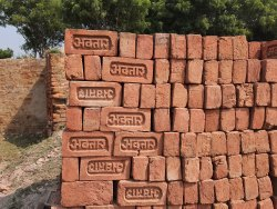 1class Rectangular Premium Quality Red Bricks, Size: 8inch