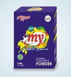 White Detergent Powder Box, For Laundry