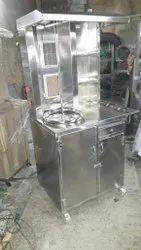 Shawarma Machine with cabinate