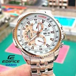 Men Round Casio Edifice Watches, For Personal Use