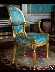 Wooden Carved Italian Chair