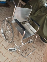 Stainless Steel Wheelchair