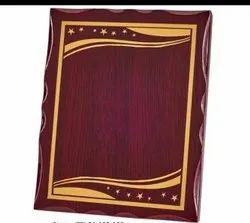 Wooden Gold Sheet Memento