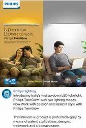Aluminum Round Philips Twin Glow
