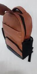 Galaxy bag Brown.black Leather Bags