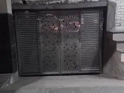 Leasr disine steel door