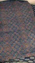 Cotton Ajrak Block Print Fabrics