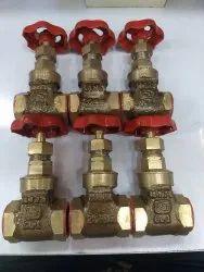 Gun metal gate / wheel valve 20mm