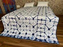 Shibori Dyed Cotton Machine Quilts