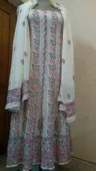 Designer Georgette Anarkali Dress