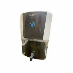 Royal Crown RO UV UF Mineral Water Purifier Machine System in SS 304 Sparkle Tank - 8l