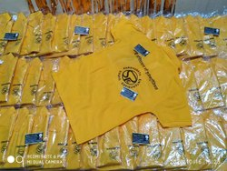 Printed Promotional T Shirt Printing Service, 100