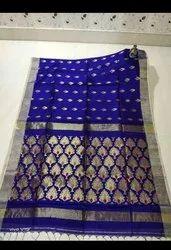 Handloom Zari Weaving Jamdani Sarees