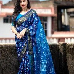 Women printed saree