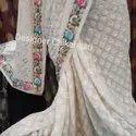 Designer Chikan Saree