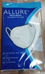 Reusable Allure Face Mask , N95 Equivalent Face Mask, Certification: Drde