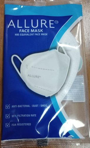 Reusable Allure Face Mask , N95 Equivalent Face Mask, Certification: Drde