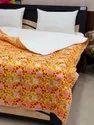 Machine Kantha Work Cotton Bedspreads