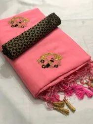 Nivera Wedding Wear Rangoli Silk Saree, With Blouse Piece, 5.5 M (separate Blouse Piece)