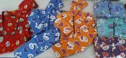 Girl & Boy Kids Printed Full Sleeve Baba Suit Foma Fleece