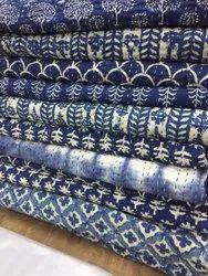 Indigo Kantha Bedspread Bedcover