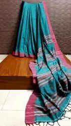 Pure Mulmul Cotton Weaving Sarees