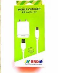 White Plastic Erd Mobile Accessories, Model Name/Number: Tc-24 2.4 Amp