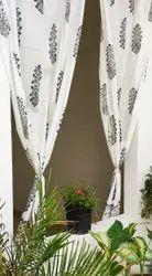 Beautiful Mugal Buta Print Curtain